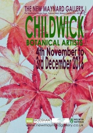 childwick-botanical-artists-2016-poster