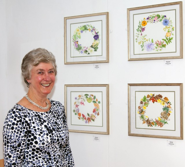 Sylvia Cook of the Childwick Botanical Artists