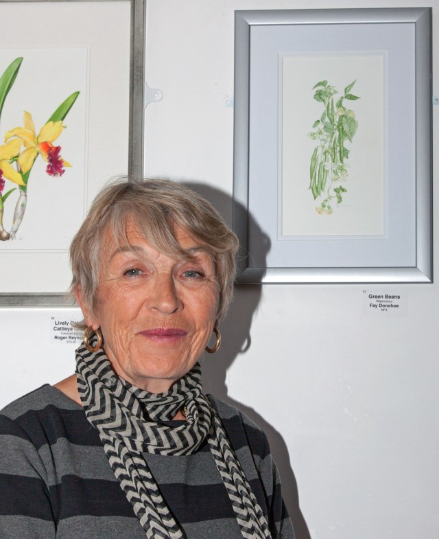 Faye Donohoe of the Childwick Botanical Artists
