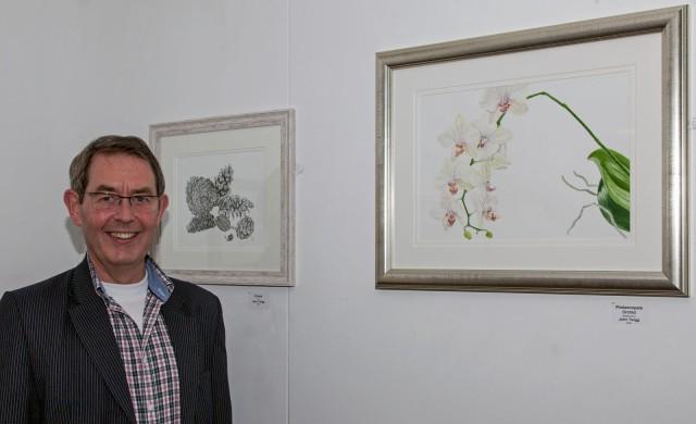 John Twigg of the Childwick Botanical Artists
