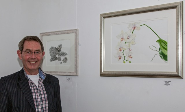 John Twigg of the Childwick Botanical Artists