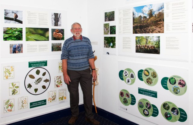 Neale Holmes-Smith of the Sherrardspark Wood Wardens