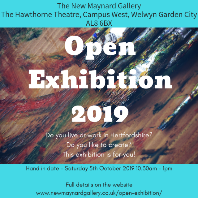 NMG Open Exhibition eflyer